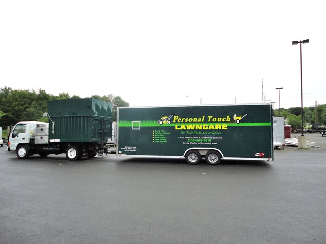 Gary's 24ft ATC Motiv enclosed landscape - Gary's 24ft ATC Motiv Enclosed Landscape - The Trailer Depot