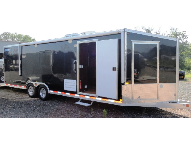 Custom Living Quarter Trailers Toy Haulers The Trailer Depot